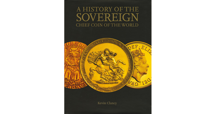 Royal Mint Museum Curator Kevin Clancy authors work about UK's gold sovereign