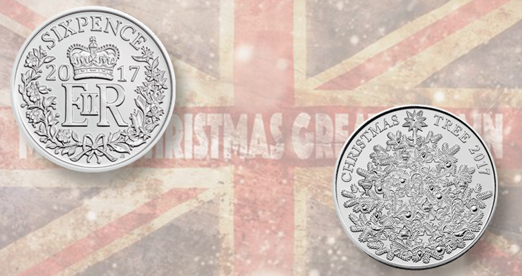 Royal mint issues 2017 Christmas coins
