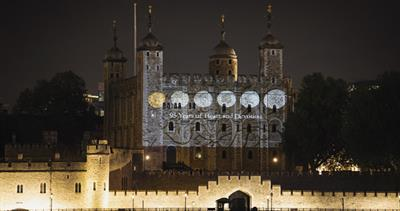 Royal Mint lights up