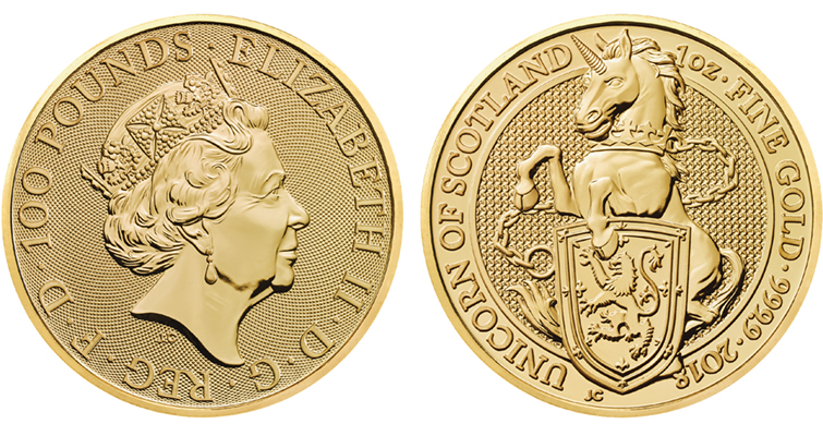 royal-mint-queens-beasts-2018-unicorn-scotland-1-ounce-gold-bullion-coin