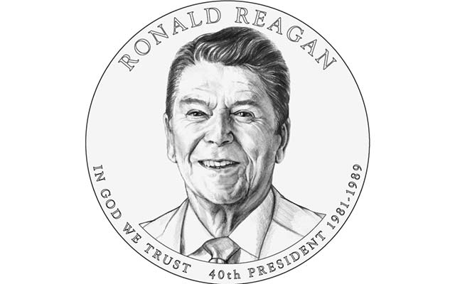 CFA recommends designs for Ronald Reagan and Mark Twain coins