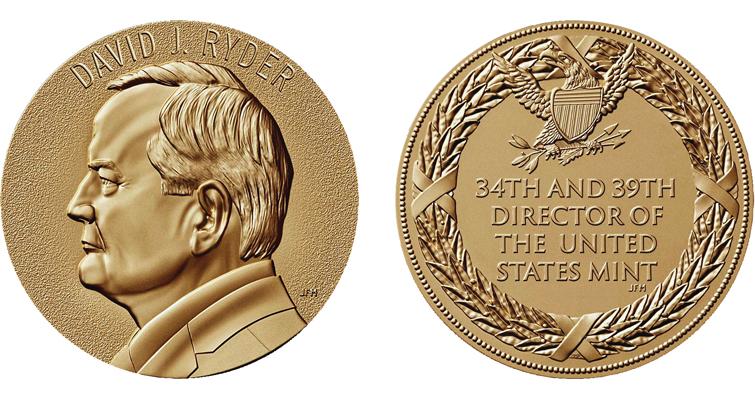 Ryder director medal