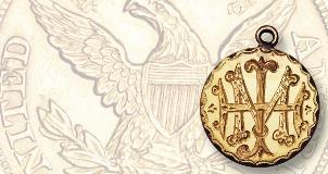 Modern carved Morgan dollar sells for $10,101