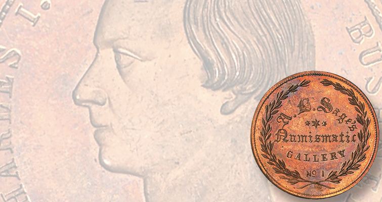 Busy time in 1859 in numismatics, then nothing: Q. David Bowers