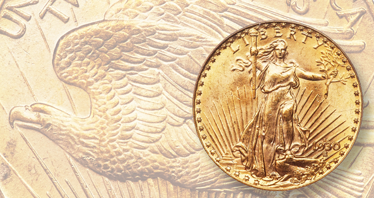 1930-S Saint-Gaudens double eagle