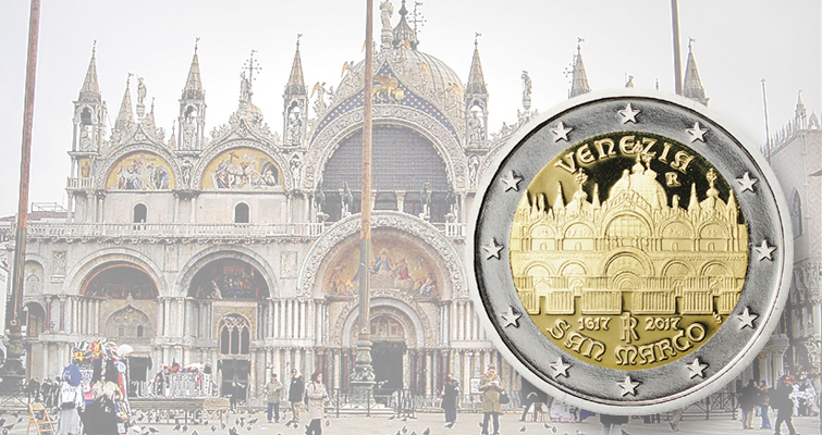 Italy issues 2017 circulating commemorative €2 coin