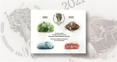 Souvenir card 40th anniversary