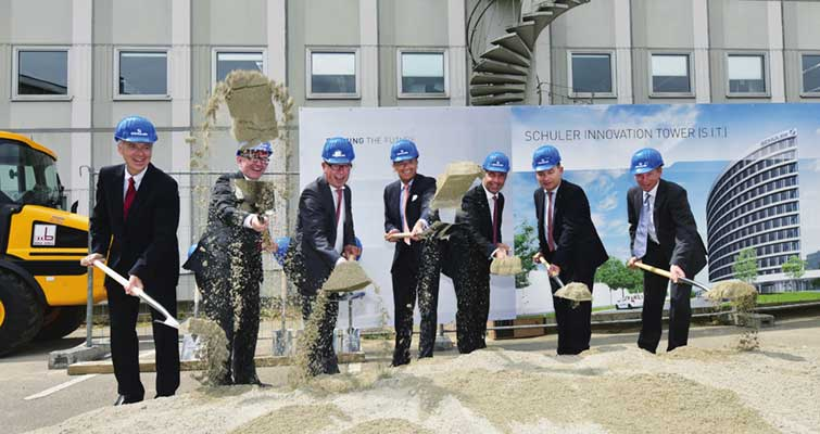 Ground-breaking kicks off construction at Schuler Innovation Tower