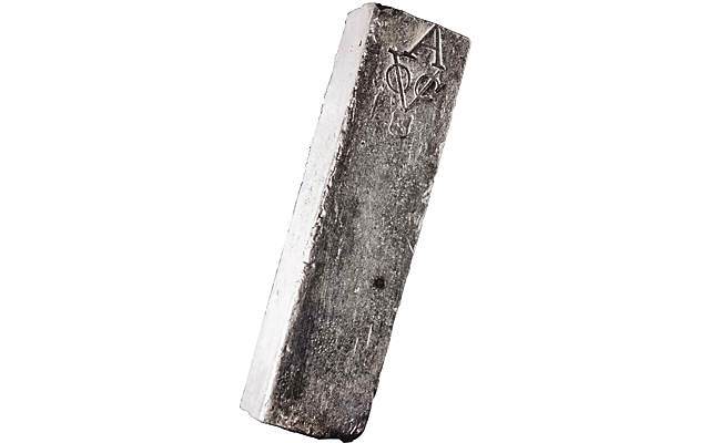 Silver bar from Dutch shipwreck highlights Schulman auction