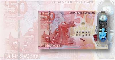Bank of Scotland 50-pound note