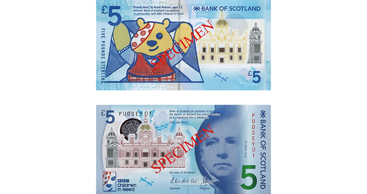 scotland-5-pound-pudsey
