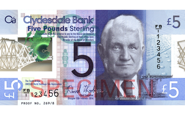 Bank of Scotland joins parade to issue polymer notes
