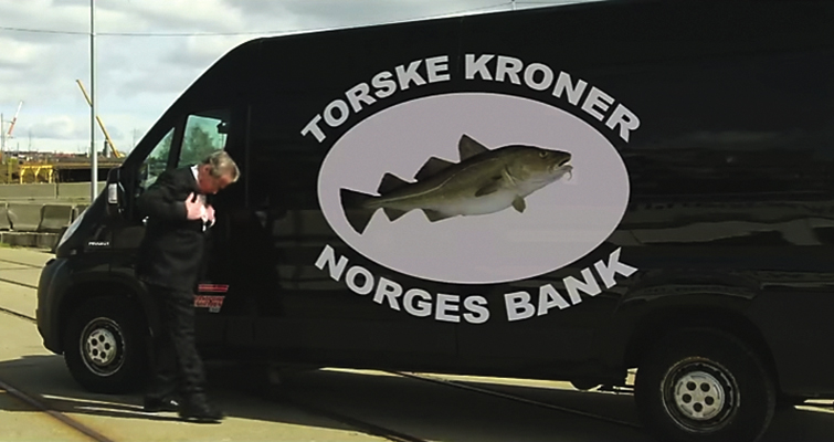 Something fishy is going on with Norway's new 200-kroner note