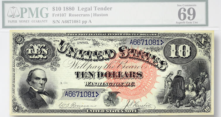 One of two known 'Jackass Notes' with lofty grade estimated to hit $125,000