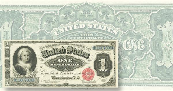 series-1886-1-dollar-silver-certicate-ha-lead