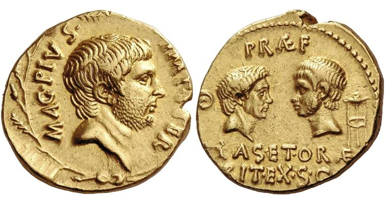 sextus-pompeius-dynastic-aureus