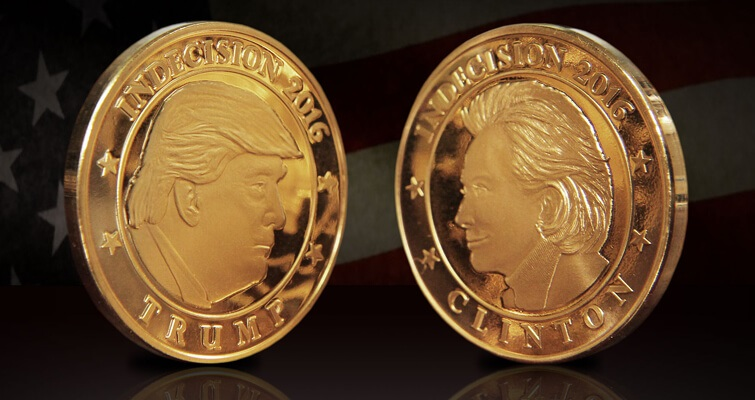 A Medal For Those Undecided Between Trump And Clinton