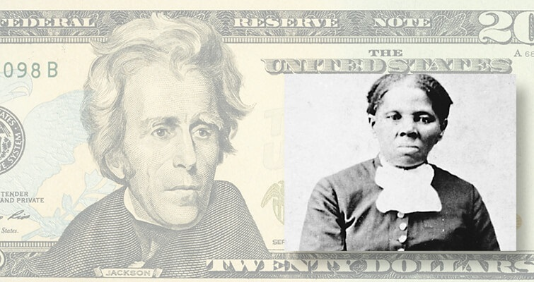 Tubman for Jackson on $20 not the only change in store for U.S. notes