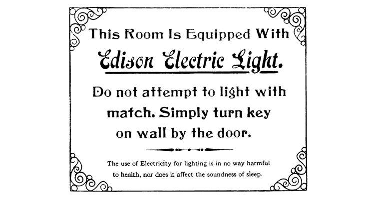 sign-for-edison-electric-light-company