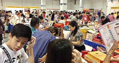 singapore-2019-002-leadOrganizers of the Singapore International Coin Fair announced a new date, Aug. 14 to 16, for the 2020 show, due to the coronavirus. The event was formerly scheduled April 3 to 5 . The photograph illustrates a past coin fair.