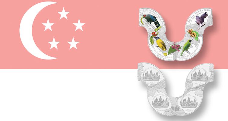 singapore-native-birds-four-coin-set-and-flag