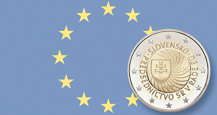 Slovakia plans circulating commemorative €2 coin for European Union leadership role