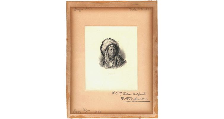 smillie-signed-engraving-running-antelope-ha