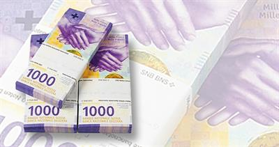 Swiss 1,000 franc note