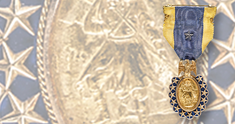 Early American History Auctions sale features Sons of American Revolution medal