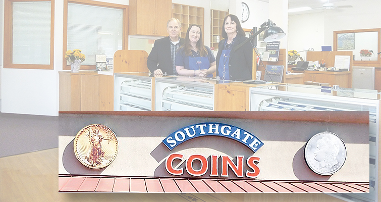 Southgate Coins Closed lead