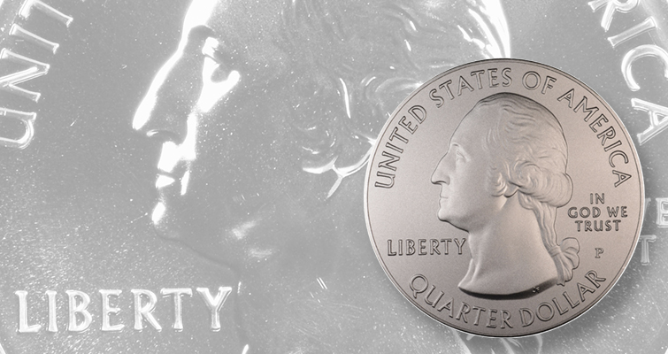 America the Beautiful 5-ounce silver quarters bear different finishes: Making Moderns