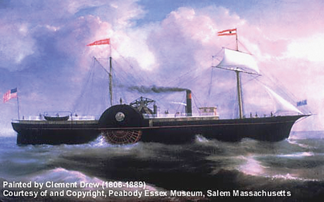SS Republic, bound for New Orleans with a cargo of coins, lost during Atlantic hurricane in 1865