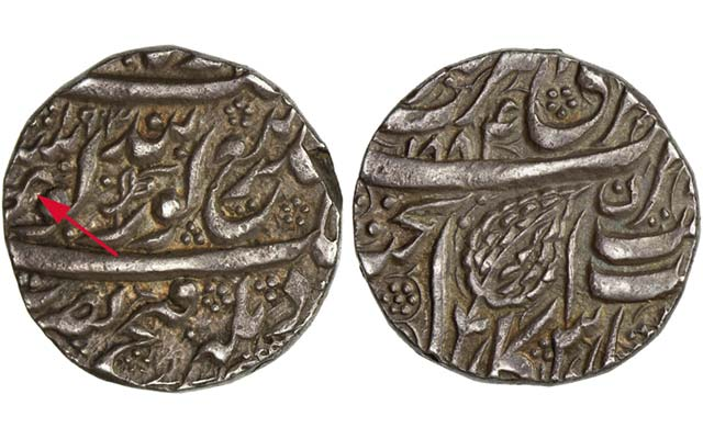 Rare silver rupee from India brings 10 times estimate in Stephen Album auction
