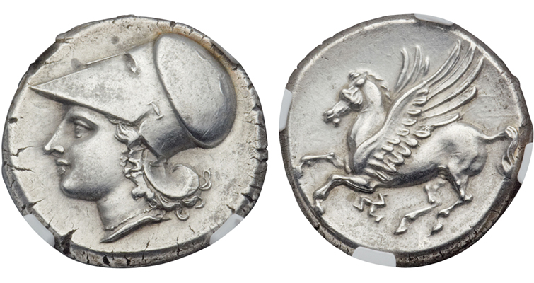 Bright Greek Coin Uncleaned And Unsearched Elephant Removing Obstruction Greek (450 Bc-100 Ad) Coins: Ancient