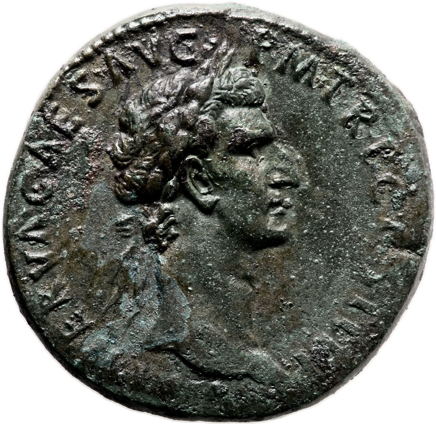 This Extra Fine example of Nerva's FISCI IVDAICI sestertius sold for $77,675 at a March 2012 Heritage Auctions sale.