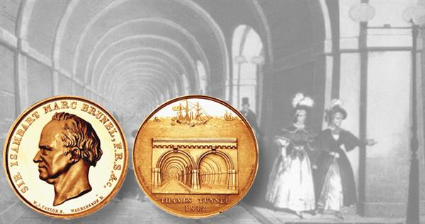 thames-tunnel-gold-medal-and-image
