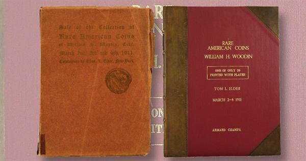 thomas-elder-woodin-collection-coin-auction-catalog