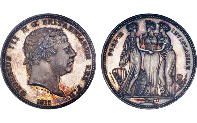 Three Graces pattern realizes $76,037 U.S. in London auction