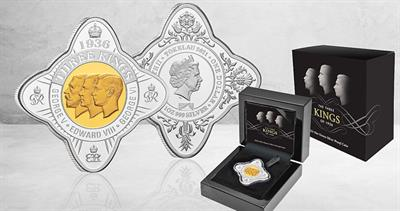 Three Kings coins from Perth Mint