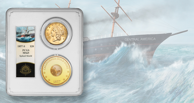 Sales for salvaged SS Central America gold coins begin