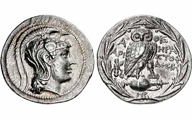 Greek wreath bearer coins among most impressive: Ancients Today