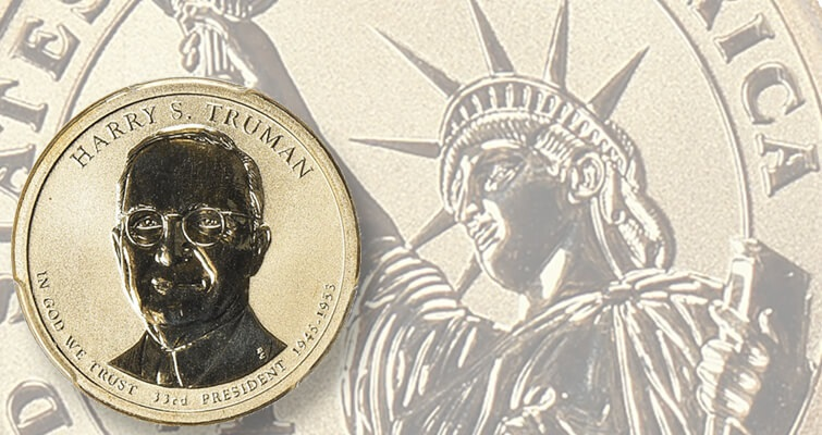Bidders battle for Reverse Proof 2015-P Truman dollar: Market Analysis