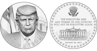 Trump medal