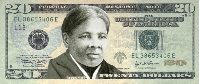 Harriet Tubman was the favorite among Women on 20s poll voters to replace Andrew Jackson on thee $20 Federal Reserve note.