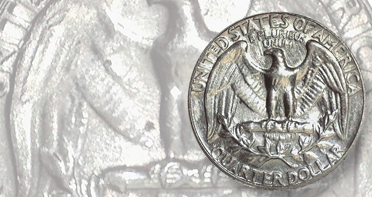 Third two-tailed Washington quarter dollar makes public appearance