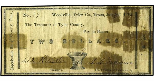 tyler-county-texas-1862-two-dollar-note-tape-damage