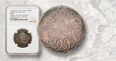 Ugly Head Washington the Great 1784 token