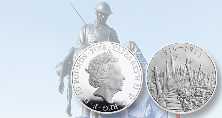 Work on monument to U.S. World War I effort in France inspires Royal Mint coin