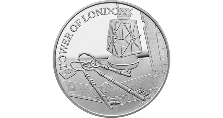 uk19cksp-the-tower-of-london-the-ceremony-of-the-keys-2019-uk-5-silver-proof-coin-rev-tone