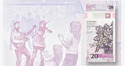 Ulster Bank 20-pound note